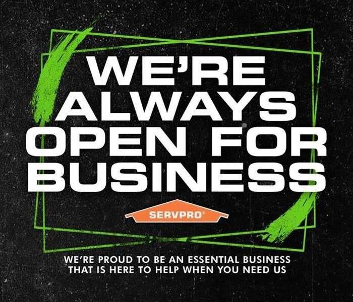 Always Open for Business