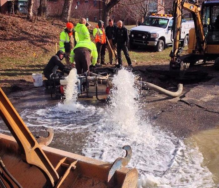 Water Damage What to Expect From a Water Main Break